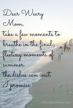 take a few moments...