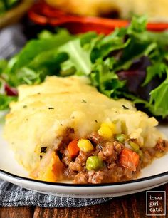 One Pan Dinner Recipes, Easy Pie Recipes, Gluten Free Recipes For Dinner, Beef Recipes, Shepards Pie Recipe Ground Beef, Homemade Seasoning Salt, Cottage Pie, Family Meals, Main Dishes