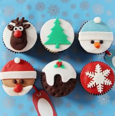 These cupcakes are perfect for a party, for Christmas day, or even as a gift for someone.