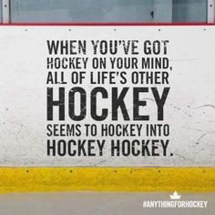 to Lose Weight with the Caveman Diet Lol Your to busy thinking about hockey all you hear from people is hockey.Lol Your to busy thinking about hockey all you hear from people is hockey. Hockey Memes, Hockey Quotes, Funny Hockey, Basketball Quotes, Sports Memes, Sport Quotes, Quotes Girlfriend, Hockey Girlfriend, Blackhawks Hockey