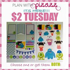 Head on over to @planwithpizazz for this cute deal! #planwithpizazz