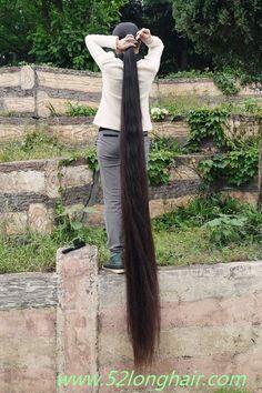 52 Long Ponytail Hairstyles, Long Hair Ponytail, Long Ponytails, Worlds Longest Hair, Rapunzel Hair, Super Long Hair, Dream Hair, Pure Beauty, Grow Hair