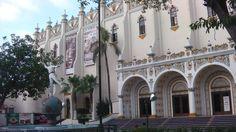 El fronton palacio Jai Alai y la era de la pelota vasca.