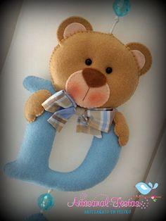 Baby Crafts, Felt Crafts, Diy And Crafts, Baby Frame, Baby Shawer, Felt Patterns, Felt Fabric, Felt Toys, Felt Art