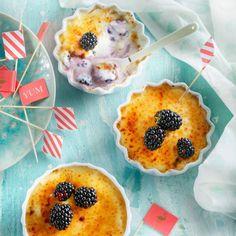De 'light' versie van recept Crème brûlée van yoghurt met bramen - Boodschappenmagazine