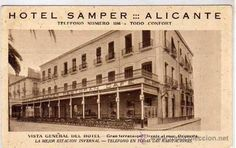 Hotel Samper-Alicante antiguo
