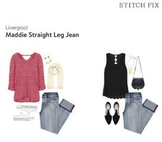 Stitch Fix, Liverpool - Maddie Straight Leg Jean; Didn't Keep, tagsthoughts.com
