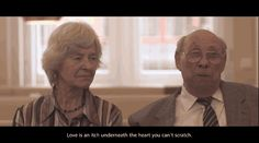There's Hans, 79, and Edith, 76, who met at a retirement home. | This Sweet Video Encapsulates All Of Your Relationship Goals