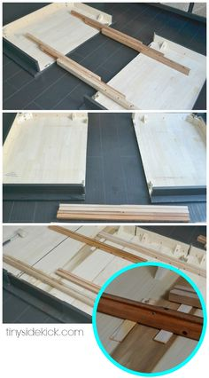 How to Extend a Dining Table (an almost failed attempt)