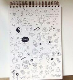 Image via We Heart It #drawing #notebook #Paper #pen #sketch