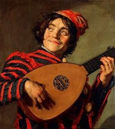 Frans Hals - De Luitspeler Best painting in the WORLD! Don't know why I like it.