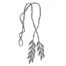 Fair Trade #Crochet Necklace from Corda