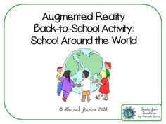 Looking for a fun way to integrate tech and bring learning to life? This scavenger hunt is not your typical scavenger hunt- it contains Augmented Reality embedded in each picture! Especially great for ELL or SpEd learners. For a quick tutorial on getting started with Augmented Reality, check out my video on How to Use My Augmented Reality Items.This is a great back to school activity, as well as a great way to introduce students to using Aurasma in your classroom!This contains:...