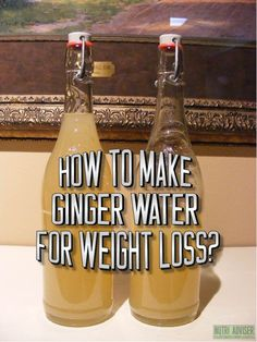 Ginger Water For Weight Loss- The Healthiest Drink That Burns Fat Like Crazy