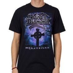 OFFICIAL ~ KING DIAMOND The Graveyard t-shirt