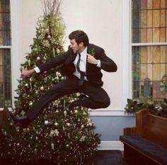 Luke is a ninja.