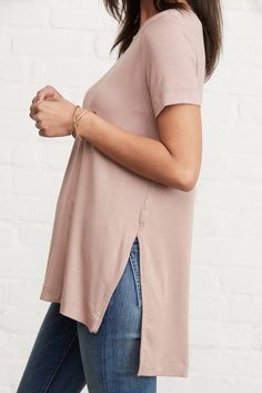 Paola High-Low Tee