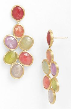Marco Bicego 'Siviglia' Cluster Drop Earrings available at #Nordstrom