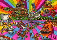 Yellow Submarine style by Acid-Flo on DeviantArt