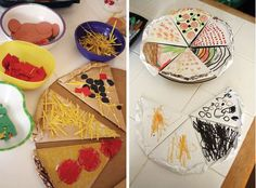 fun idea for the kids when they are older: make your own play food, as in play pizza with paper or felt ingredients.