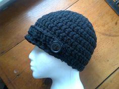 Crochet Pattern  Elena Gilbert's Hat Inspired by by MeAndMyHook, $1.99