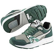 Trinomic XT-1+ Trainers: Back in the 1990s, running shoes weren't afraid to show off their goods. PUMA added to the visual technology boom with Trinomic: clear rubber cells that collapsed and rebounded for cushioning, stability, motion control…​ and double-takes. Trinomic's first superstar was the PUMA XT family. The Trinomic XT-1+ is an exact replica of the '90s original? It's more aggressive than passive and more authentic than overdone. And it's not about to wait another…