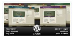 18 Church Themes For WordPress Websites