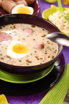 Recette de Zurek (soupe aigre)