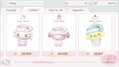 🕊一目惚れ Angel Aesthetic, Pink Aesthetic, Sanrio Characters, Photo Dump, My Melody, Cute Icons, Softies, Hello Kitty, Pictures