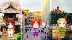 Hetalia Japan, Italy, Germany