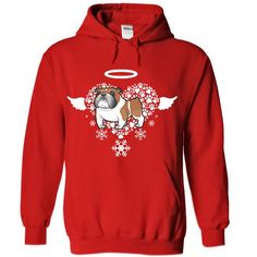 English Bull Dog Tee And Hoodie T Shirts, Hoodie. Shopping Online Now ==► https://www.sunfrog.com/Pets/English-Bull-Dog-Tee-And-Hoodie-Red-Hoodie.html?41382