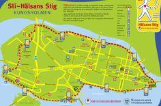 Walking/Jogging Routes in Stockholm