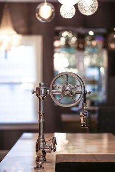 Waterstone Wheel Pulldown Faucet - 5100