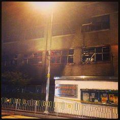 .@sw0415 | 오늘 내모교 나눔초등학교가 화재가일어났다 주차장에서 불이 시작됬고 저층만타긴... | Webstagram