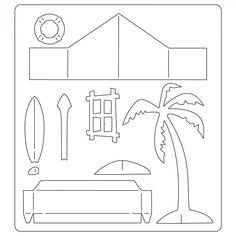 661208 Sizzix Bigz Die - Village Surf Shack - Coming Soon - Column 1 - Products