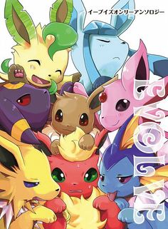 Eeveelutions  https://www.facebook.com/pages/The-Nerd-Rave/113442648801172