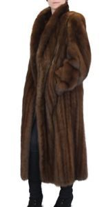 M L Canadian Sable Fur Coat Mens Or Womens Fully Let Out W Storage Bag Women Woman Accessories Fashion