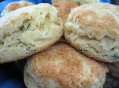 Julia Child s Herb Biscuits from Food.com:   								This is one of the first recipes I made by Julia Child and I still use it often. I like using these for a brunch or stuffed with ham & cheese for breakfast on the go.