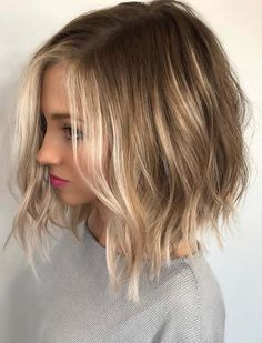 Wonderful ideas of side parted long bob hairstyles for balayage hair colors to wear in 2018. These are elegant and cute hair colors for every female to sport in 2018. Just see here and save the top trends of hair colors for balayage and ombre highlights for various hair lengths.