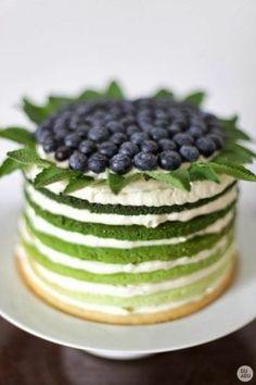 Vacker tårta. Kanske salt eller söt