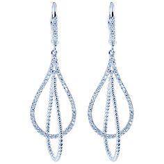 #Gabrielco #Dropearrings #Diamonds  EG11377W45JJ