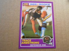 1989 score supplemental trace armstrong rc #440s chicago bears dolphins raiders from $1.99