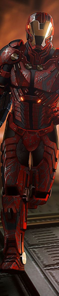 cool armor from Mass Effect 2--- It looks like a futuristic take on the Iron Man suit