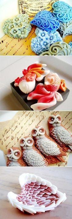 Top Creative Works » Beautiful handmade soaps 6-12