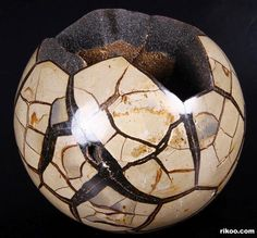 Crystals Minerals, Rocks And Minerals, Crystals And Gemstones, Stones And Crystals, Crystal Egg, Crystal Skull, Crystal Sphere, Septarian Stone, Celtic Druids