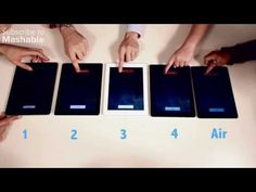 iPad Air vs. Every Other iPad Ever Made