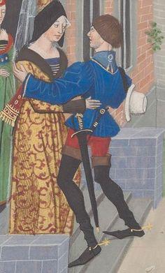 Regnault de Montauban, rédaction en prose. Regnault de Montauban, tome 2  Date d'édition :  1451-1500  Ms-5073 réserve  Folio 101v