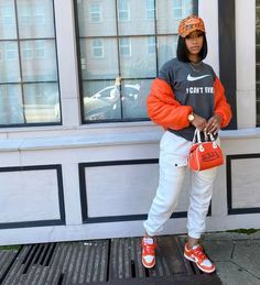 Baddie Outfits Casual, Cute Swag Outfits, Chill Outfits, Cute Comfy Outfits, Dope Outfits, Stylish Outfits, Teen Fashion Outfits, Retro Outfits, Black Girl Fashion
