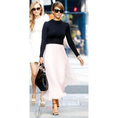 Jessica Alba 9 Best Street Style Looks of 2013 InStyle.com ❤ liked on Polyvore featuring models