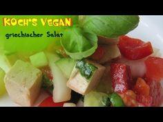 ▶ griechischer Salat - veganer Käse - Feta - vegane Rezepte von Koch's vegan - YouTube